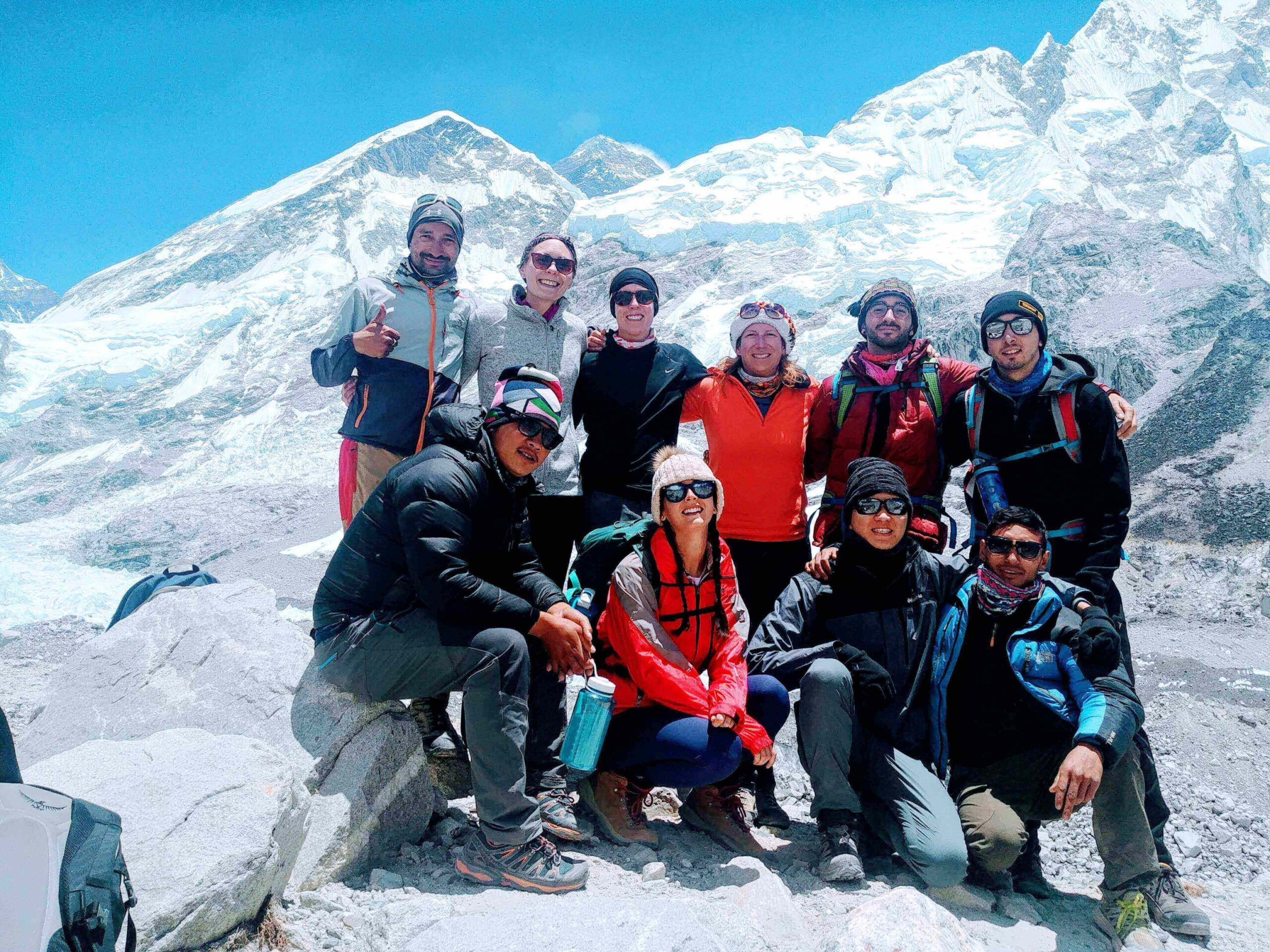Everest base camp trekking Nepal